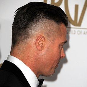 The Real Reason Brad Pitt Shaved His Hair