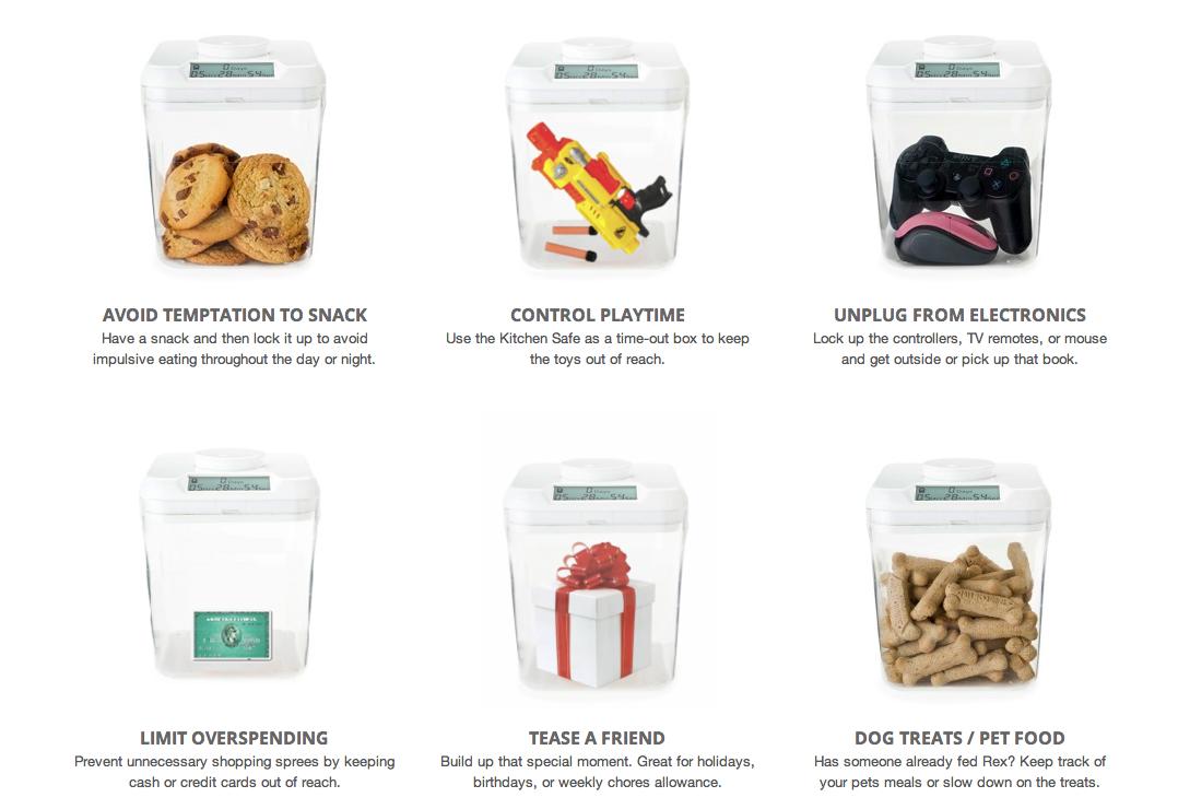 Kitchen Safe Container