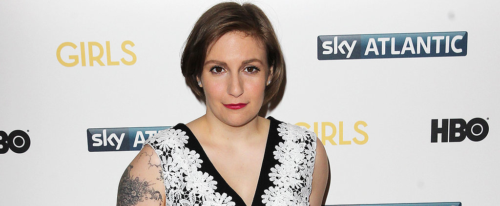 Watch Lena Dunham Get a Lesson in Being a Cover Girl