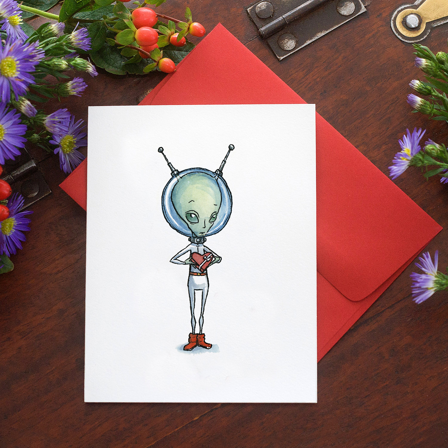 Ah, nothing is sweeter than young alien love ($4).