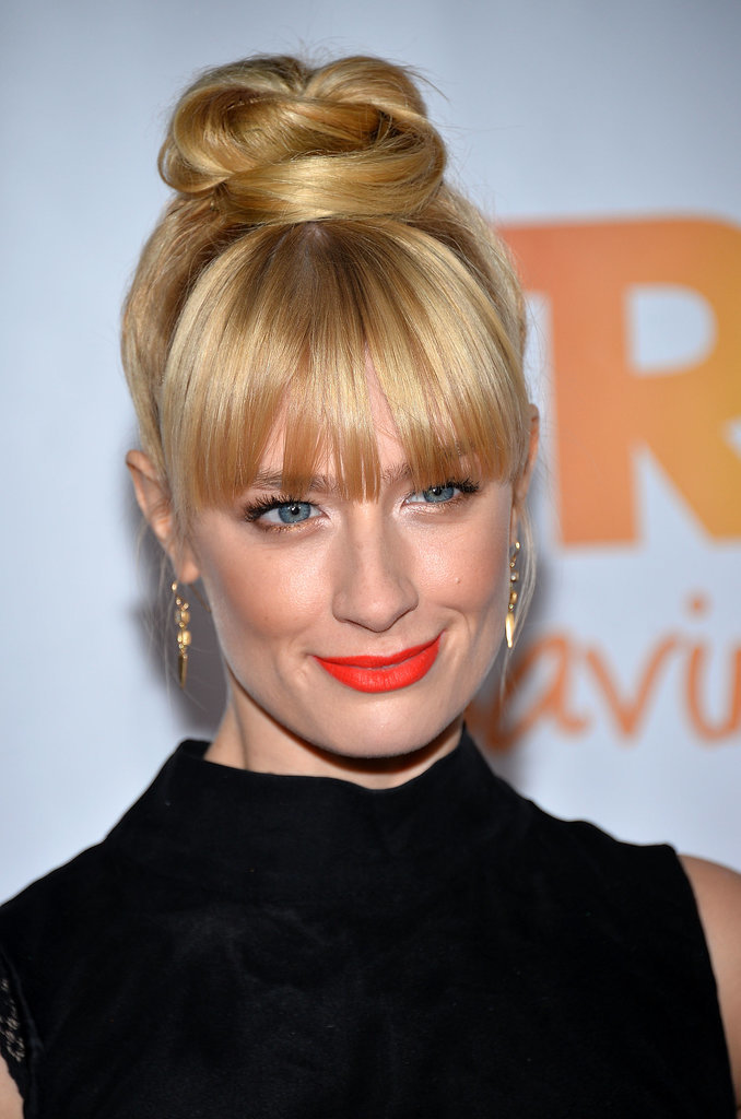 Beth Behrs The Bright Lipstick Looks You Shouldn T Be