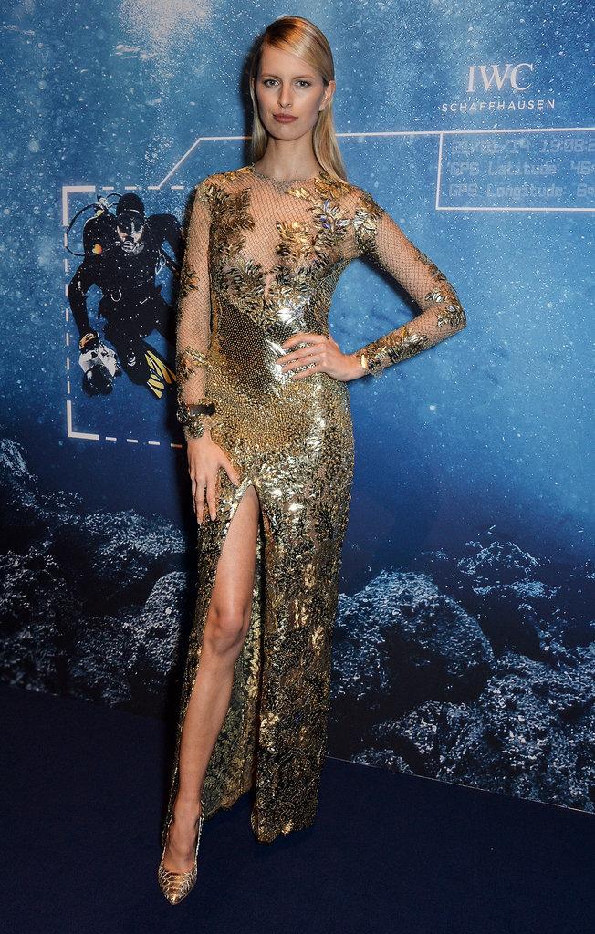 Karolina Kurkova at the Inside the Wave Gala.