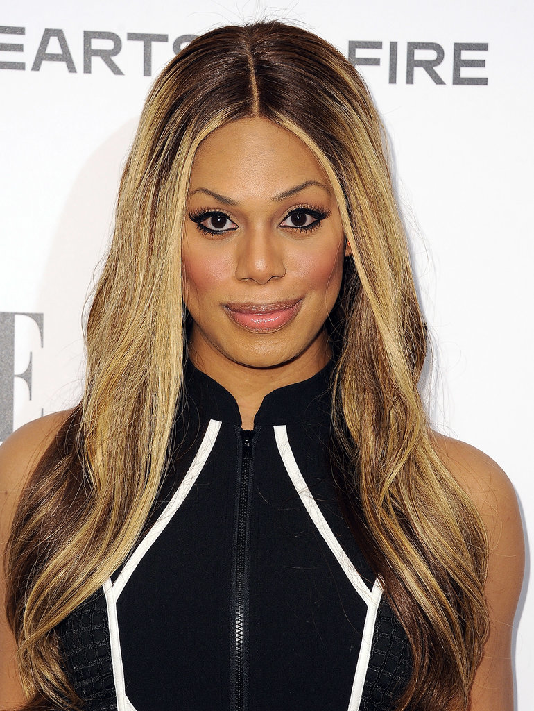 Laverne Cox  Pink Lips and Laverne Cox Skin Bleaching