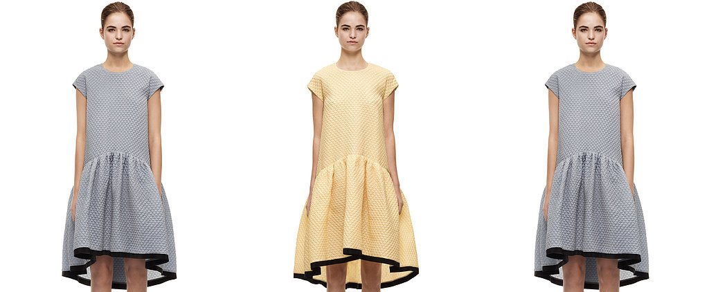 Victoria Beckham Does Us a Solid, Makes Perfect Transitional Dress