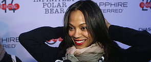 "Zoe Saldana Gets ""Tough"" at Sundance"