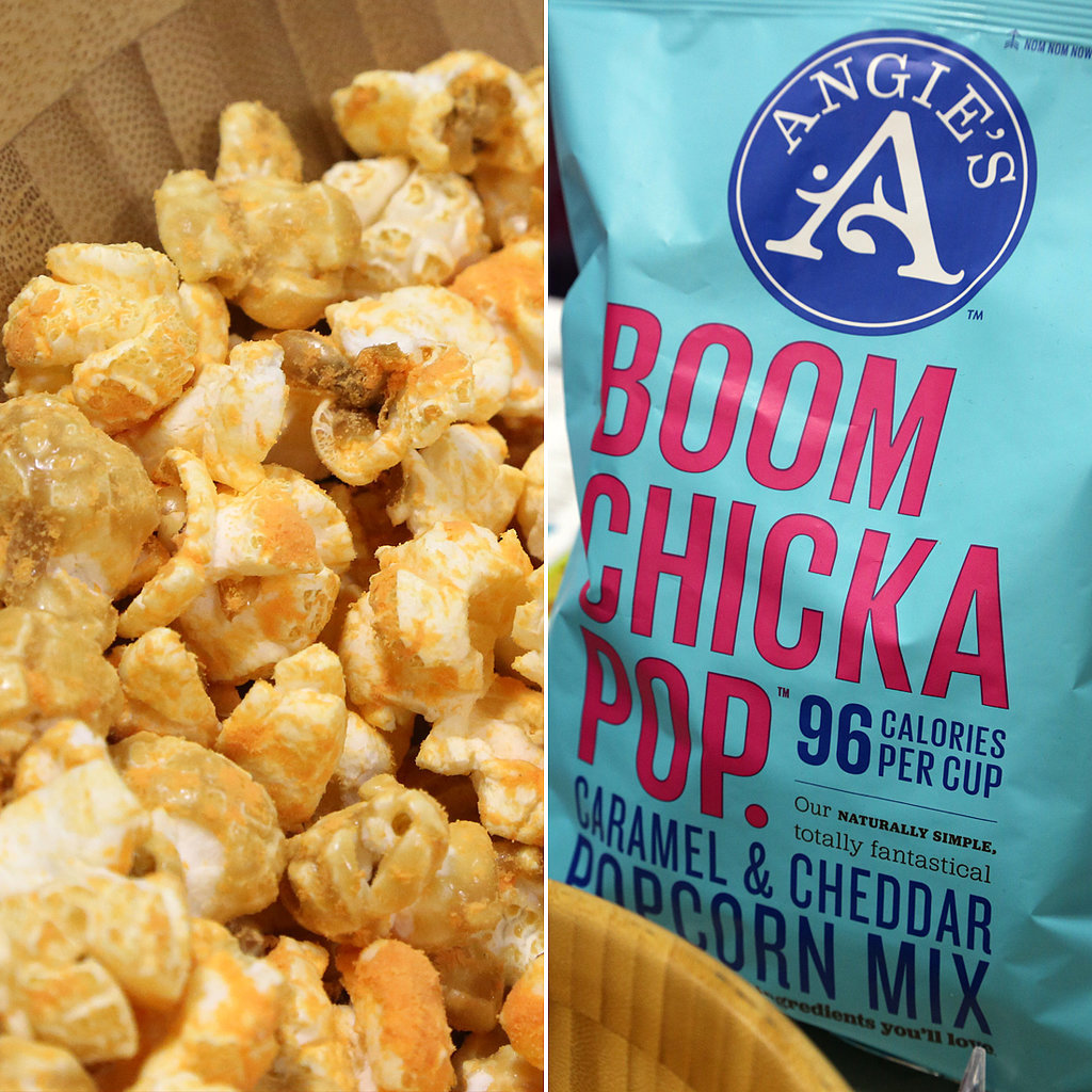 Best Salty-Sweet Snack : Angie's Boom Chicka Pop Caramel and Cheddar Popcorn Mix