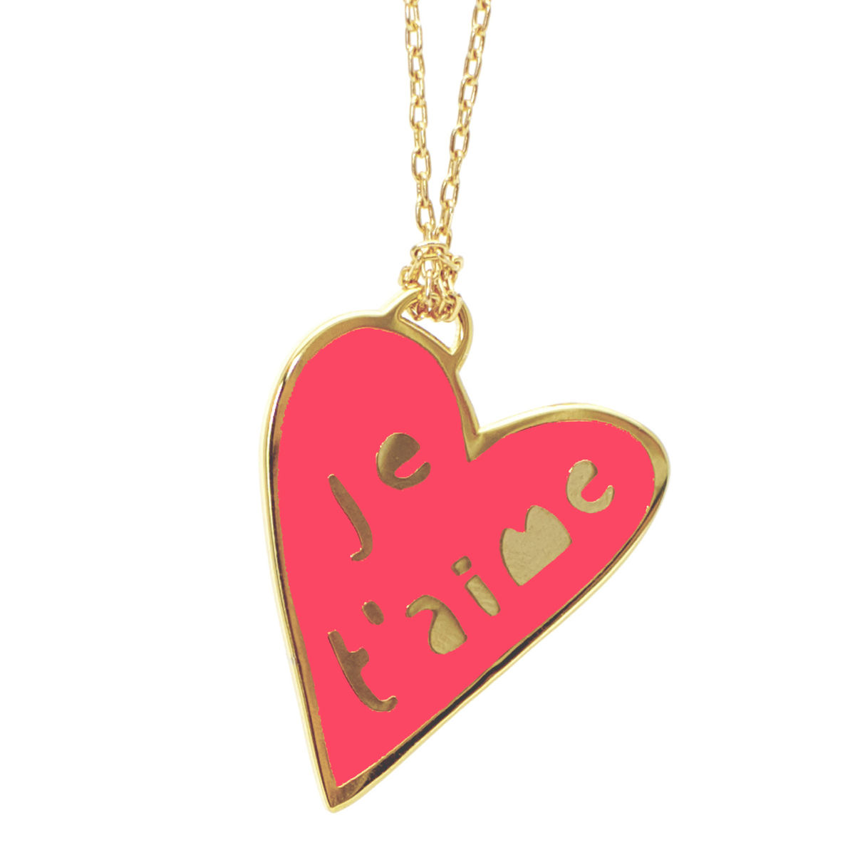 Yellow Owl Workshop Je T'Aime Necklace