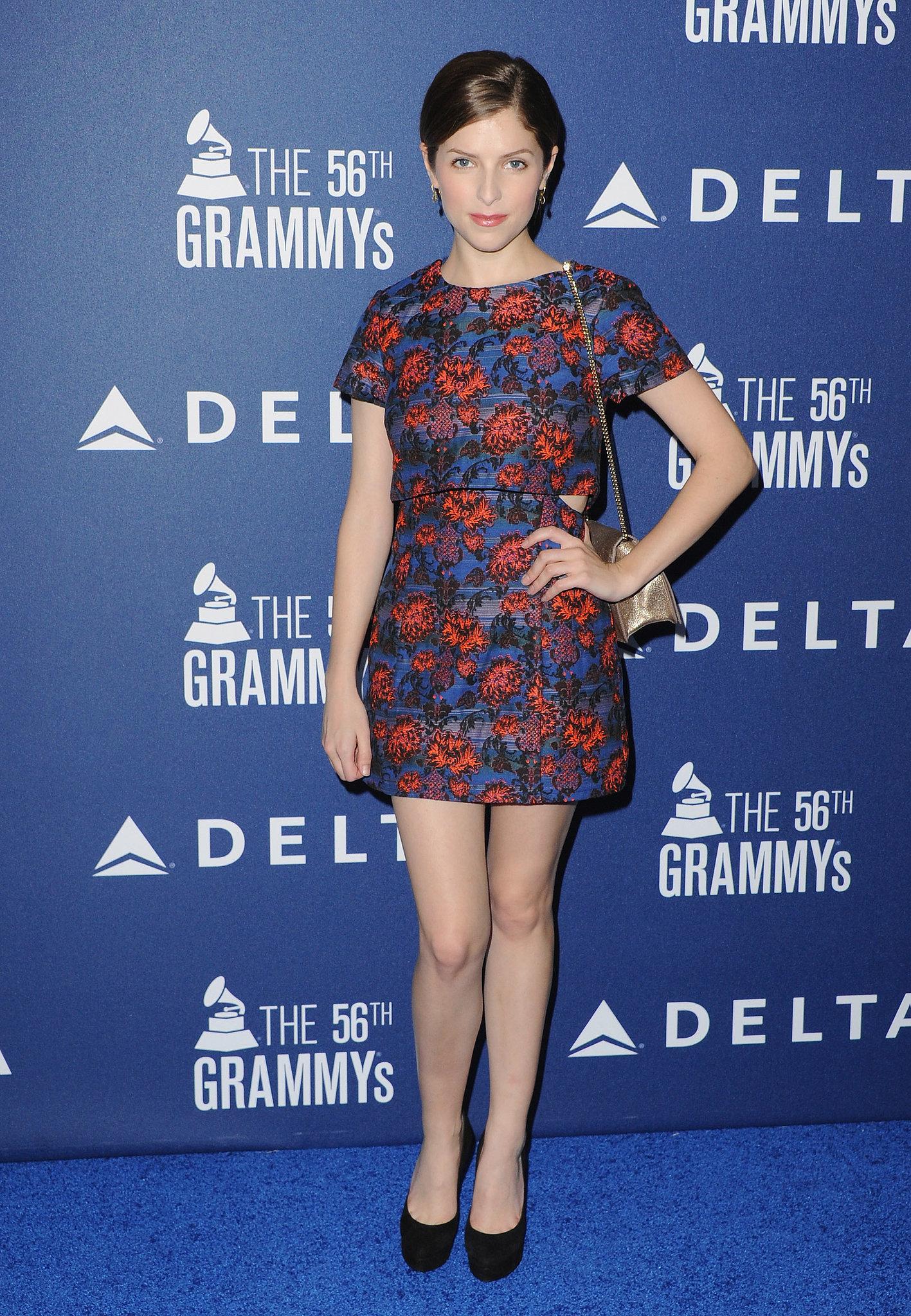 Anna Kendrick at the Delta Air Lines Grammy Weekend Reception
