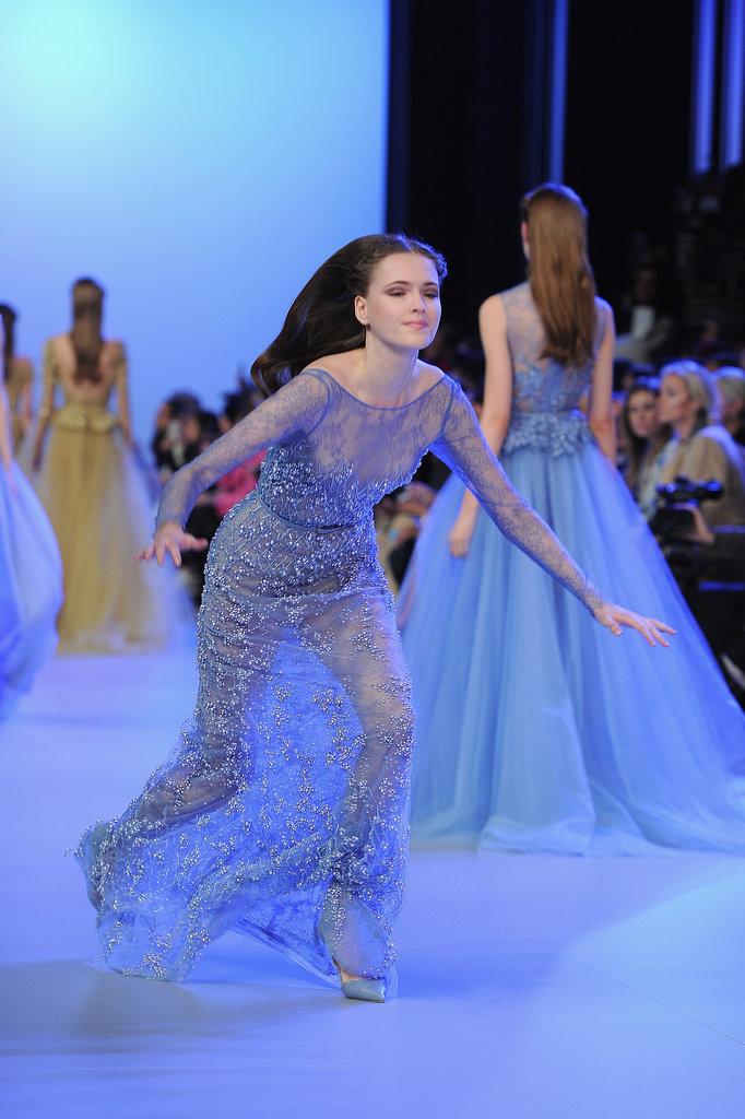 Model Catwalk Model Spill on The Catwalk