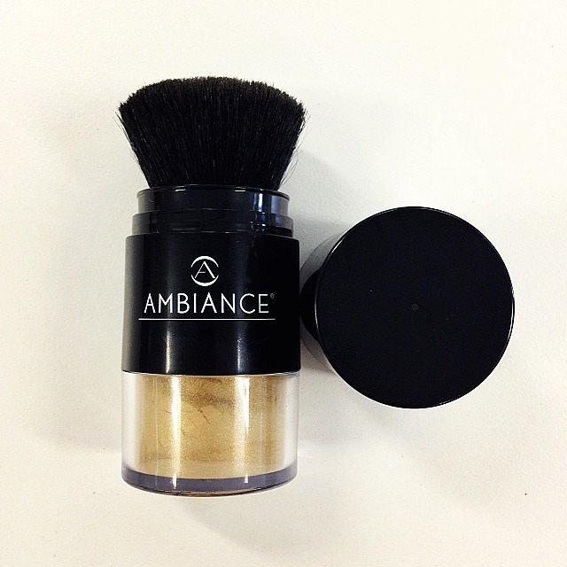 We tried Ambiance Volumising Dry Shampoo this week — yes, it's dry shampoo, but not as you know it! This one is 100 percent natural, and comes in multiple colours that tint your hair (temporarily!) when you brush it on. Get it at Ambiance Australia's website.