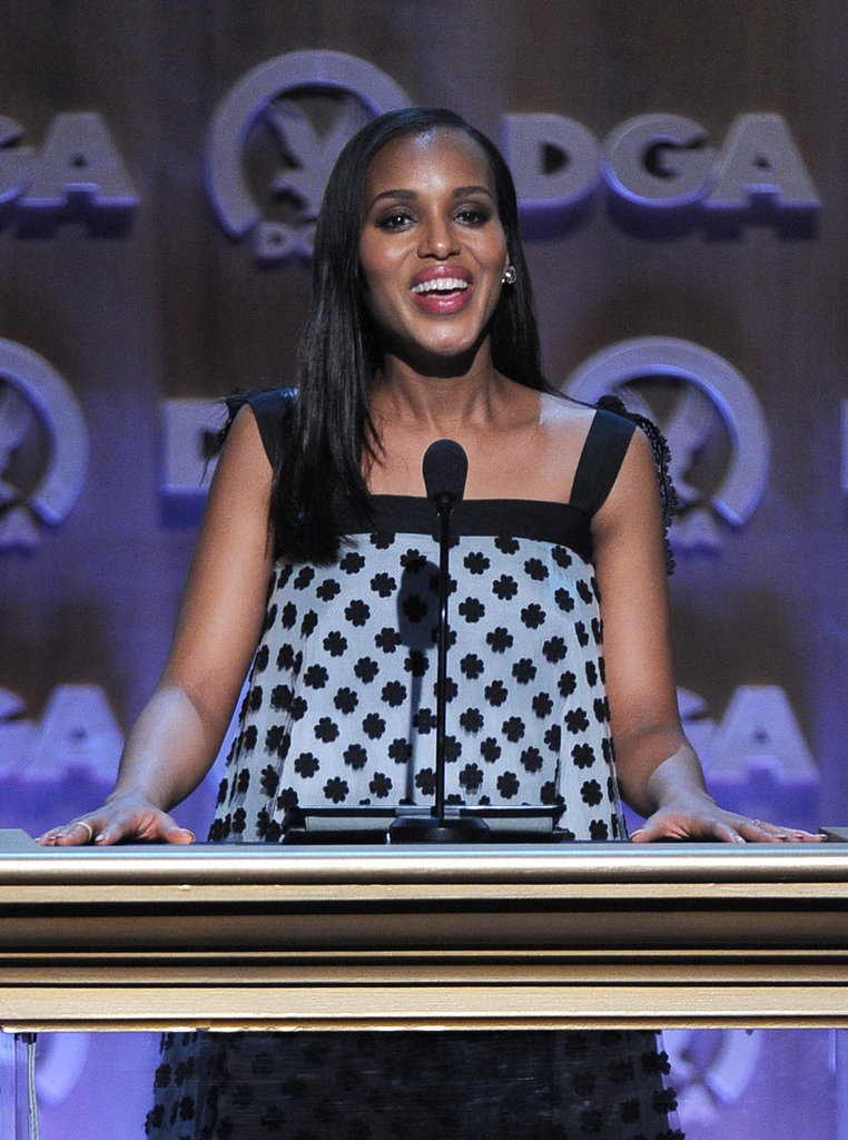 Kerry Washington took the stage at the event.