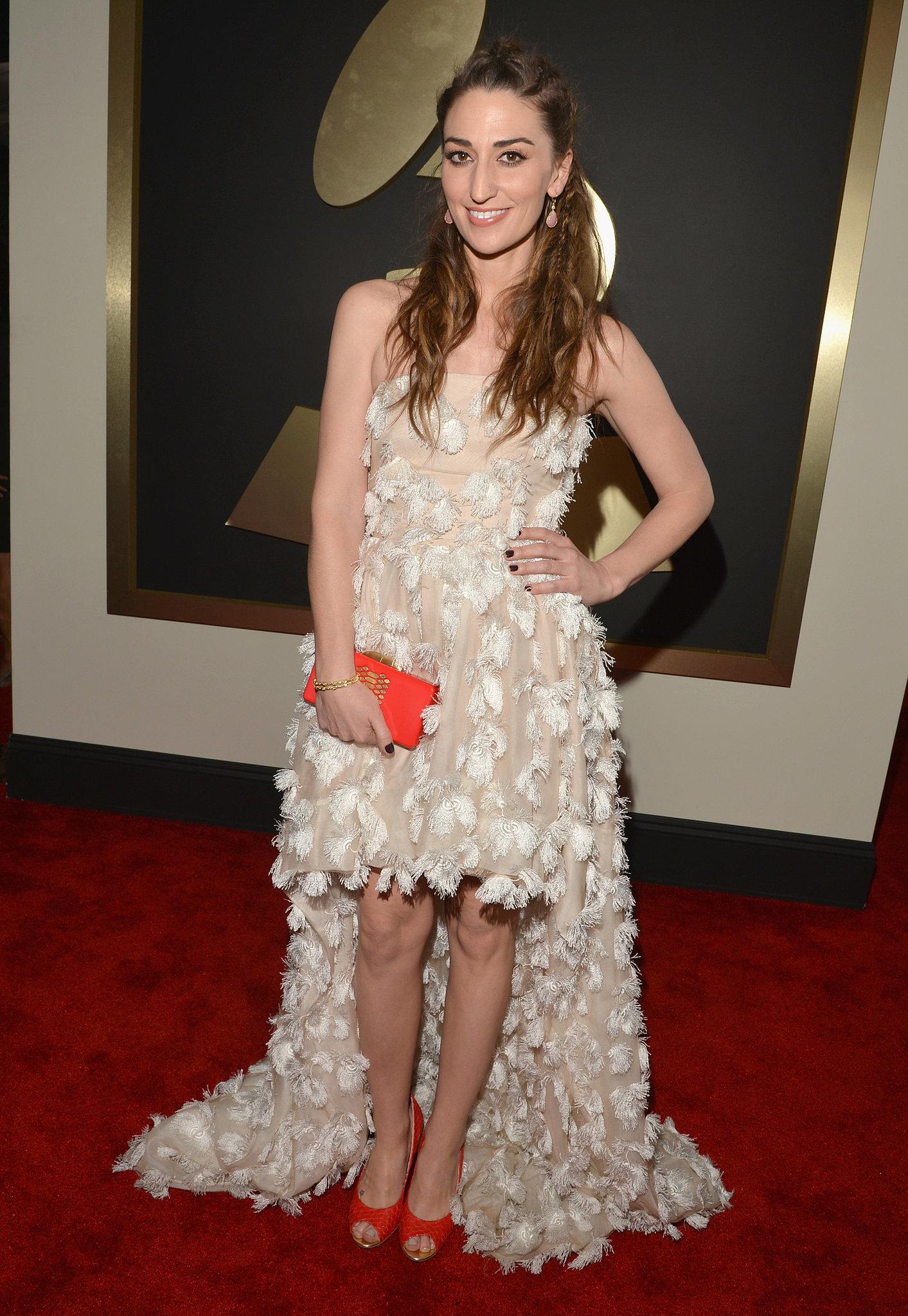 Sara Bareilles at the Grammys 2014