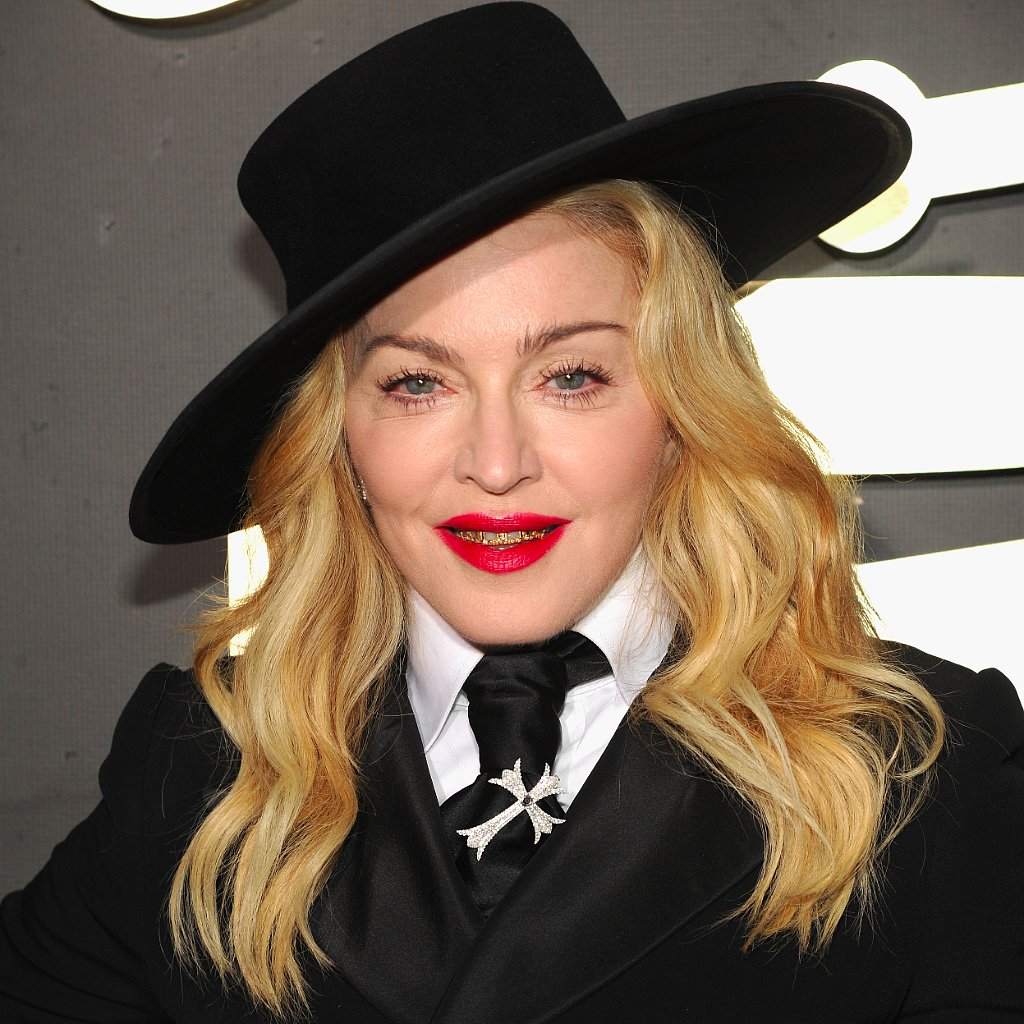 Madonna's Hair and Makeup at the Grammys 2014