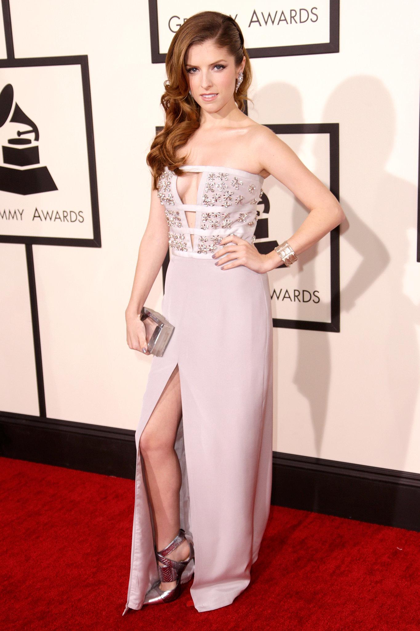 Anna Kendrick at the Grammys 2014