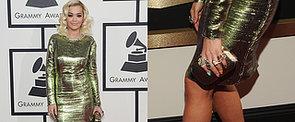 2014 Grammy Awards: Rita Ora in Lanvin and Lorraine Schwartz