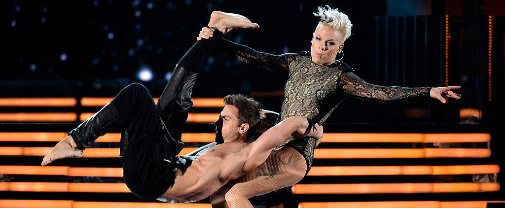 Here's Pink's High-Flying Grammys Performance