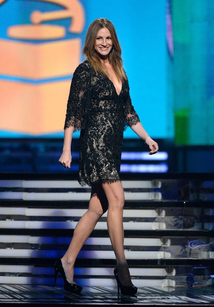 Julia Roberts at the Grammys 2014