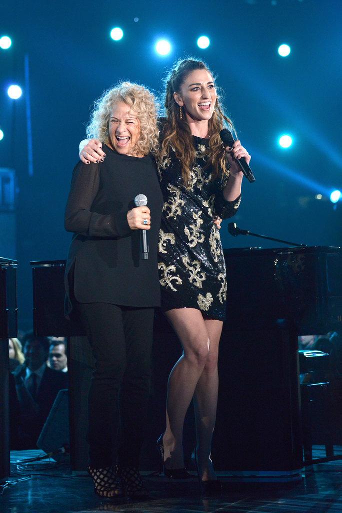 Carole King and Sara Bareilles introduced an award together, adorably.
