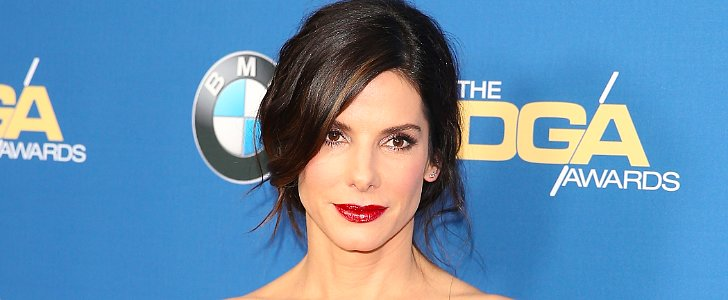 Like Sandra Bullock's Decidedly Messy Chignon?