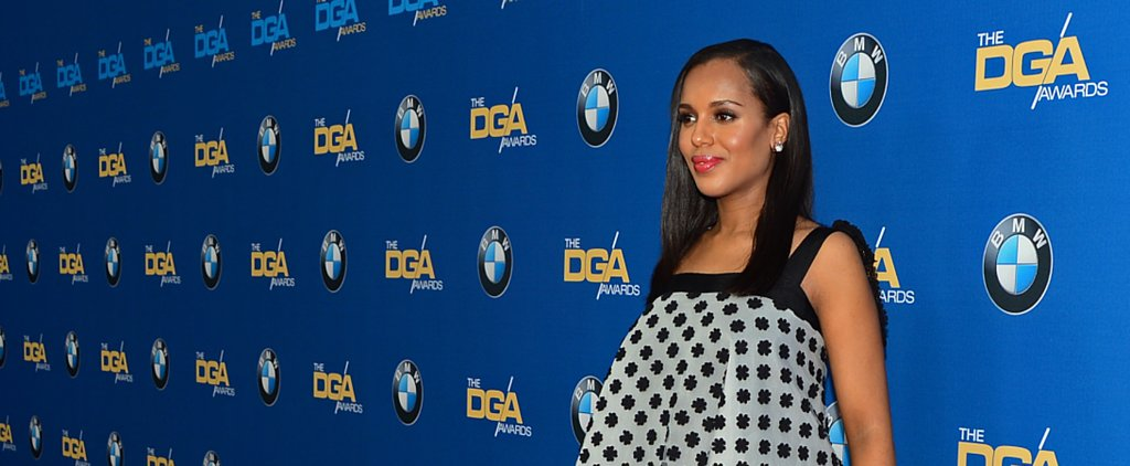 Pregnant Kerry Washington Makes Another Red Carpet Statement