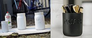 Mason Jar Makeup Storage: The Cutest DIY Ever?