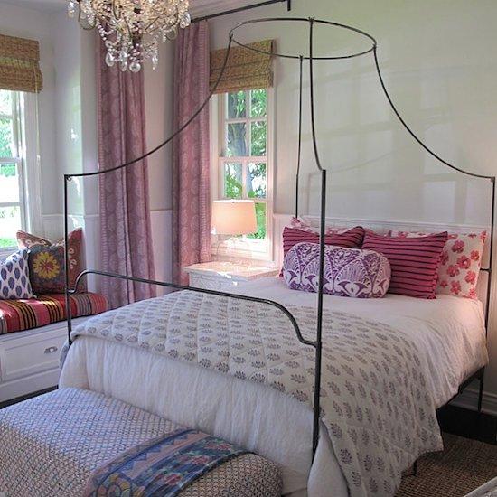 Desire/Acquire: Iron Canopy Bed