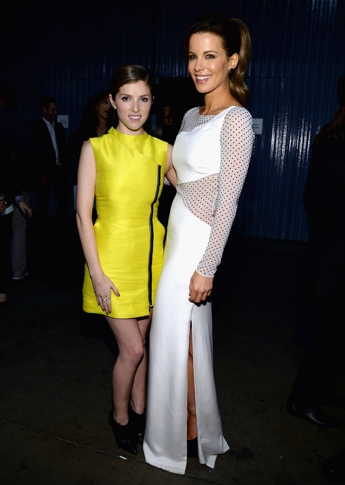 Anna Kendrick and Kate Beckinsale both looked glamorous.