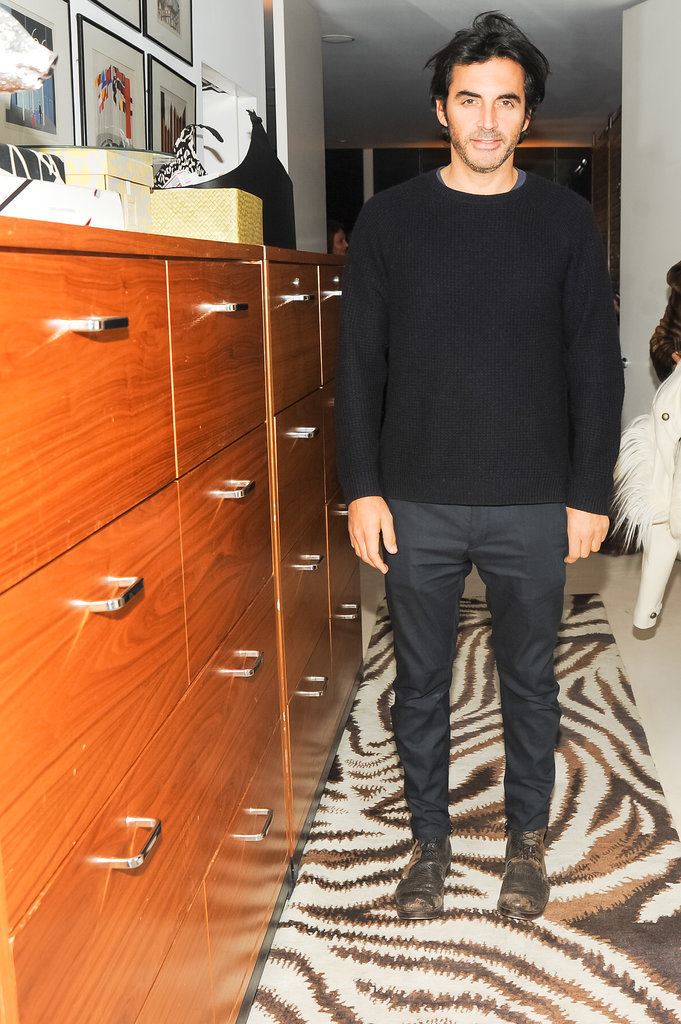 Yigal Azrouël attended Diane von Furstenberg and the CFDA's bash for Marigay McKee.