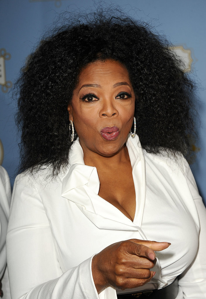 Oprah had a point to make at the Essence Black Women in Hollywood luncheon in 2013.
