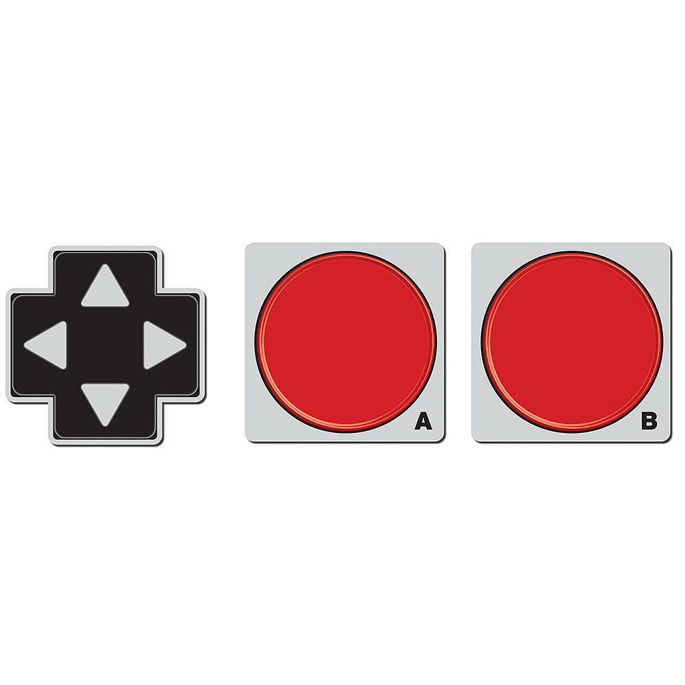 Impress friends the next time they're over by whipping out out these great game pad coasters ($15).