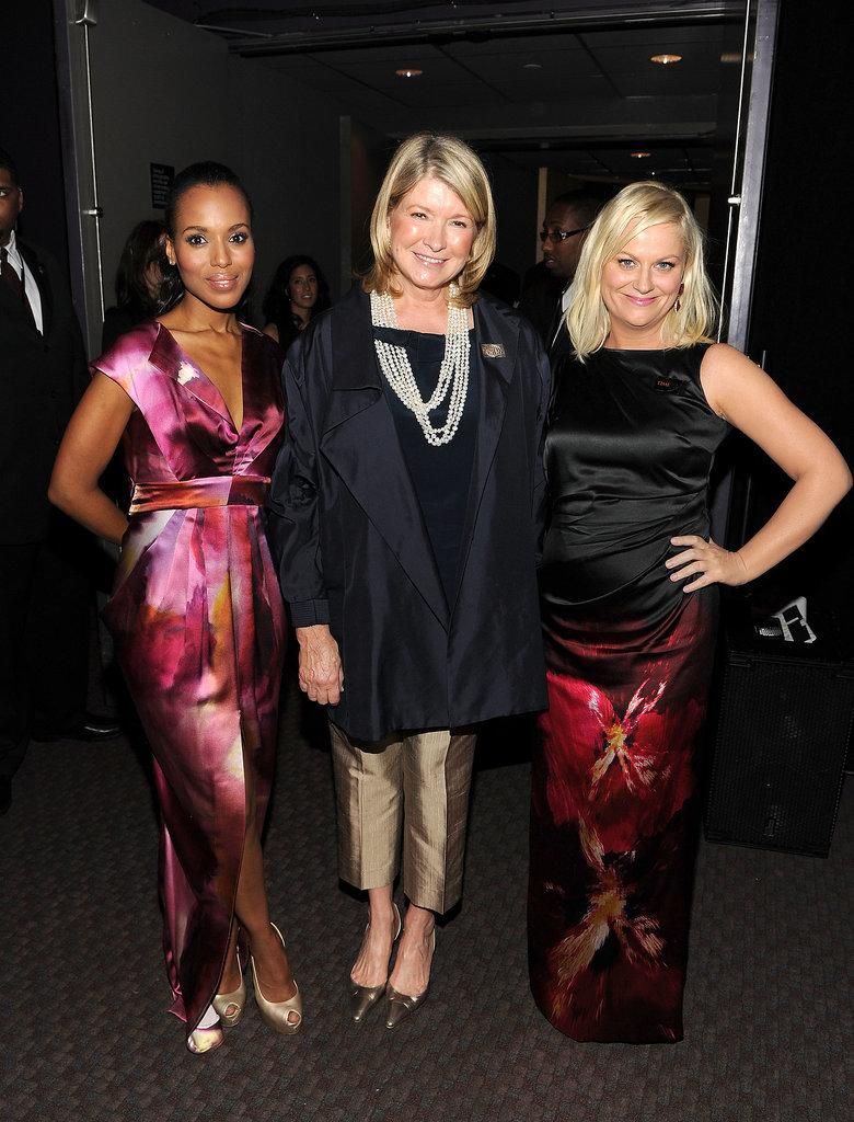 Her Blond Friends Martha Stewart and Amy Poehler Appreciate Her