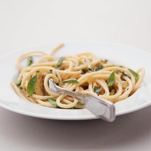 Spaghetti al Limone (Lemon Spaghetti)