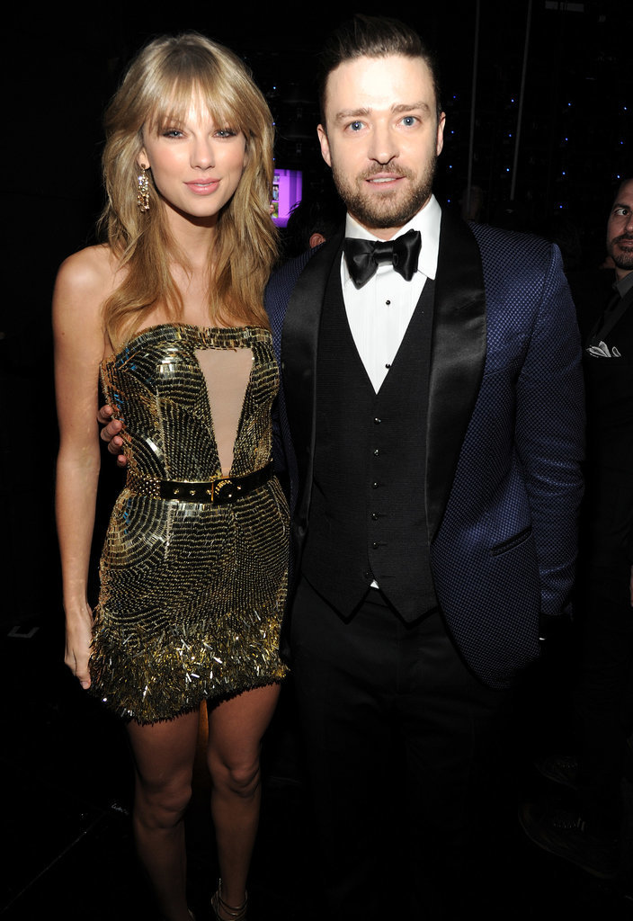 Justin met up with Taylor Swift during the American Music Awards in November 2013.