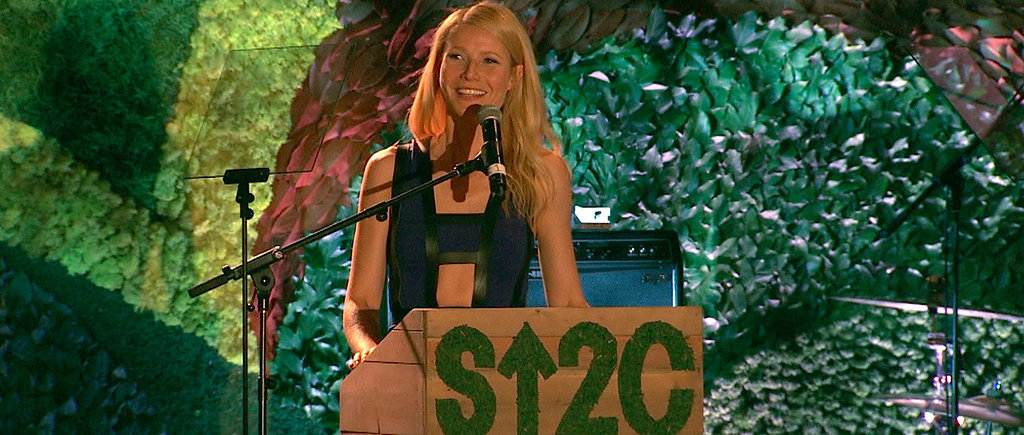 "Gwyneth Salutes the ""True Rock Stars"" in a Room of A-Listers"