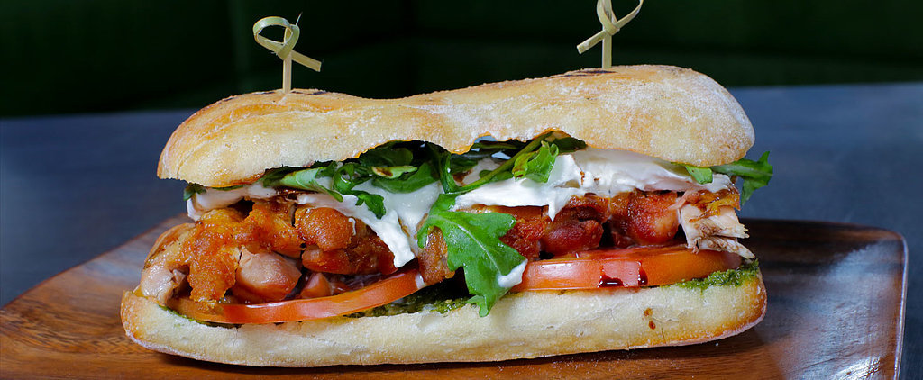 Pile On the Flavor With a Pan-Roasted Chicken Sandwich
