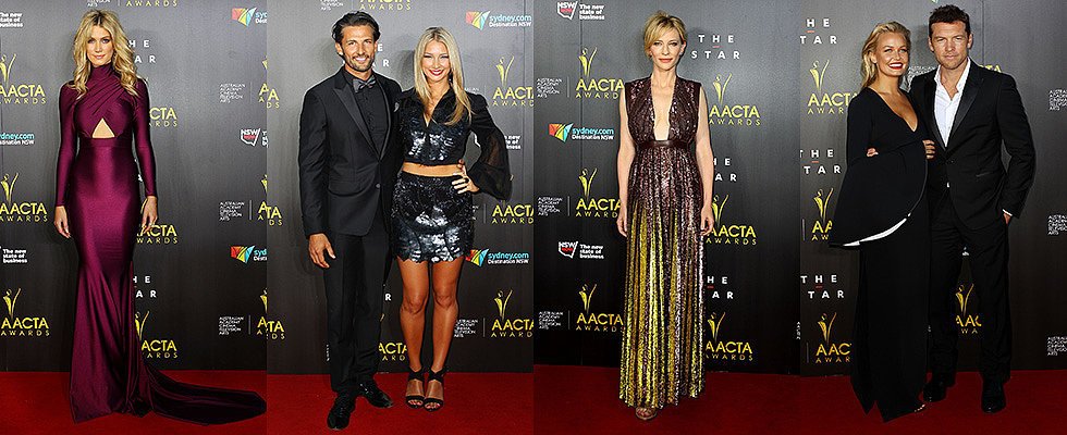 The 2014 AACTA Awards Red Carpet Was Full of Big Stars