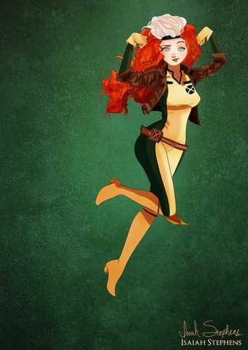 Merida as Rogue
