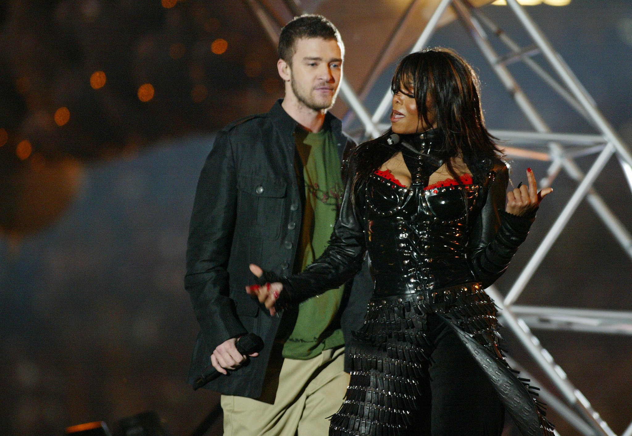 It Was All Good When Justin First Joined Janet on Stage