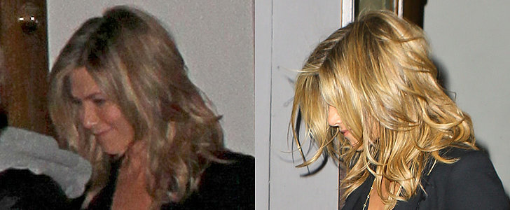 Jennifer Aniston Debuts New Long Locks