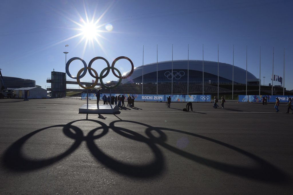 Source: Getty/Alexander Nemenov   You'll be hearing a lot about the host city. Sochi is a resort city that sits on the Black Sea. Sports venues are set up in two different areas of the city, and in total, it's costing about $50 billion to host the Games there. That's four times the 2007 estimate by Russian President Vladimir Putin. The 2010 Games in Vancouver, Bri