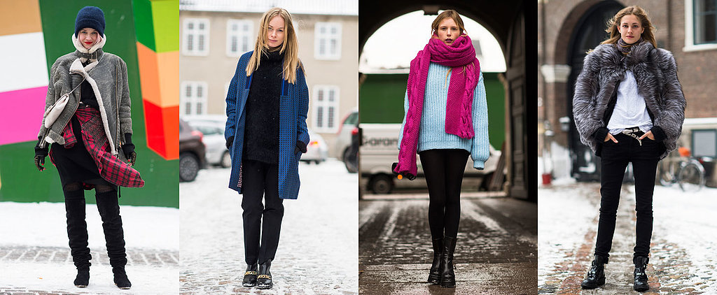 All the Street Chic Inspiration You Need to Beat the Snow In Style