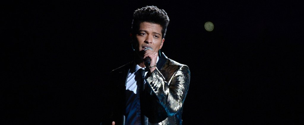 Forget the Football. Can We Talk about Bruno Mars's Hair?