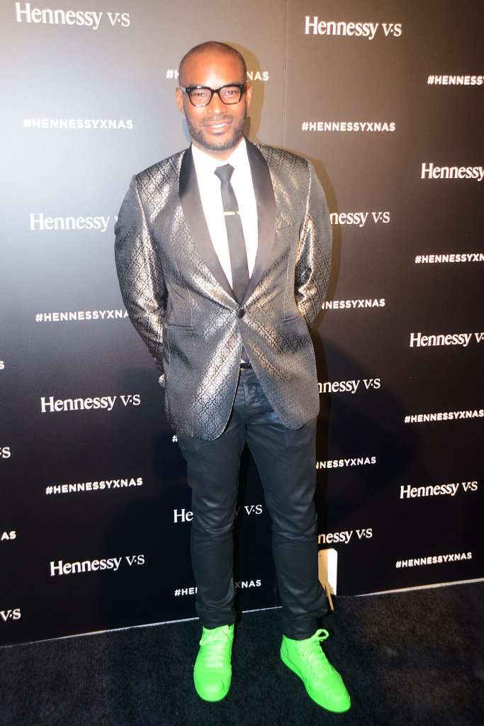 Tyson Beckford at Hennessy VS presents Never Stop. Never Settle.