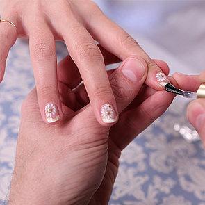 Zooey Deschanel Golden Globes Manicure 2014 | Video