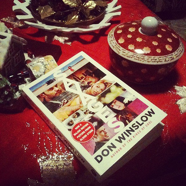 Alexlondon23 was reading Savages by Don Winslow.