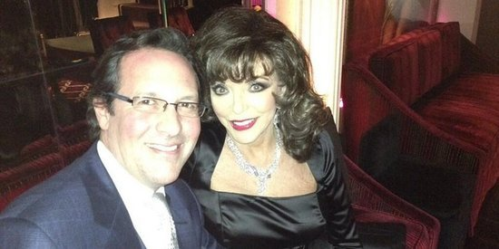 Joan Collins Credits 'Sex, Sex, Sex' With Keeping Her And Husband Percy Gibson's Love Alive