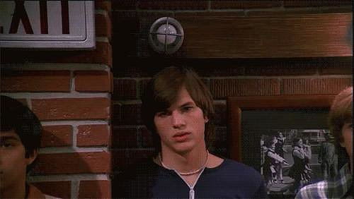 A lightbulb went off when you first saw Kelso.