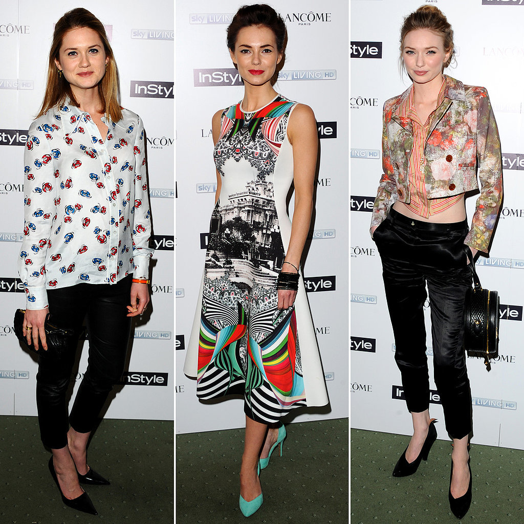 Instyle Pre Bafta Party Celebrity Fashion Popsugar Fashion Uk