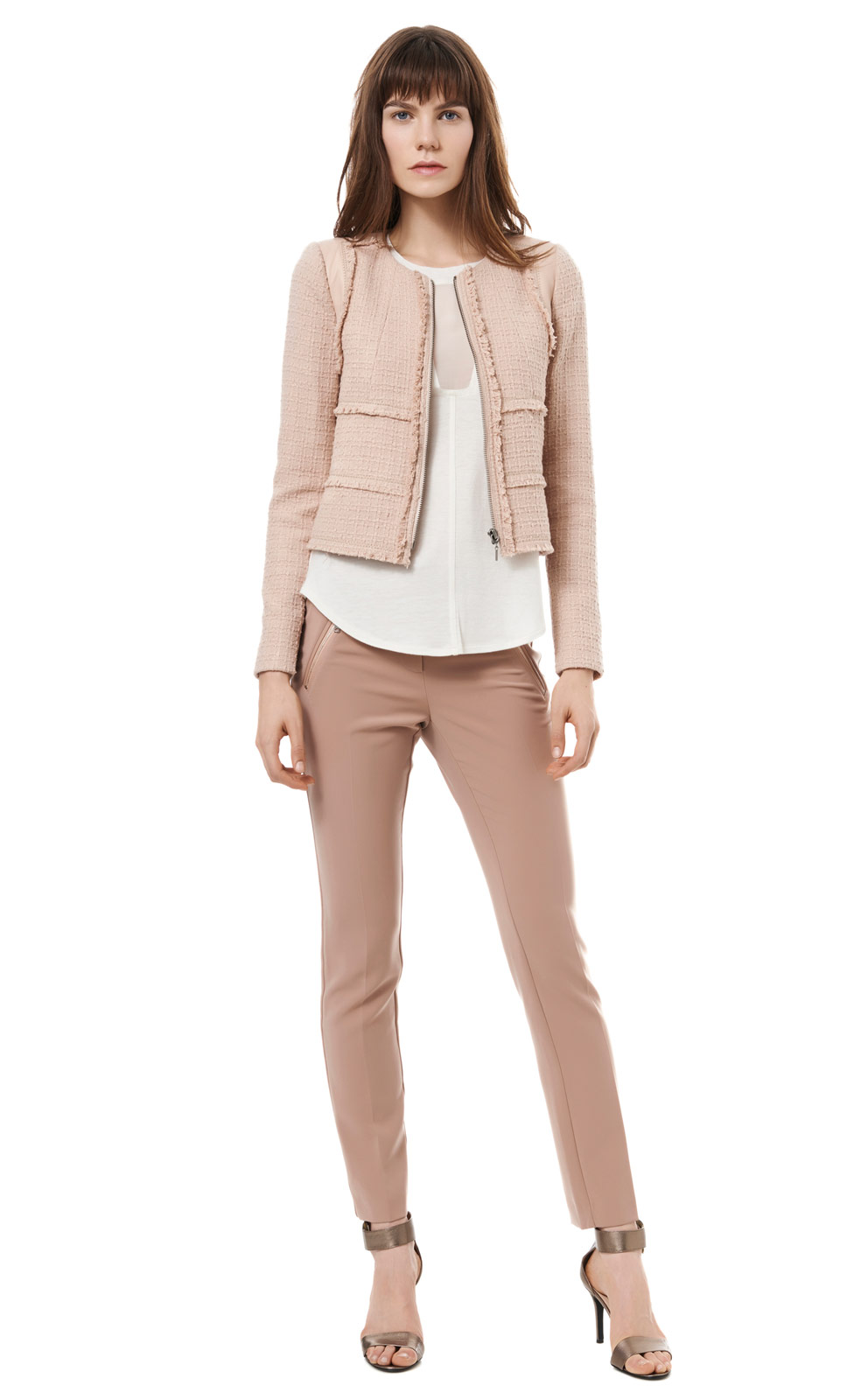 Rebecca Taylor Patched Tweed Jacket ($495)