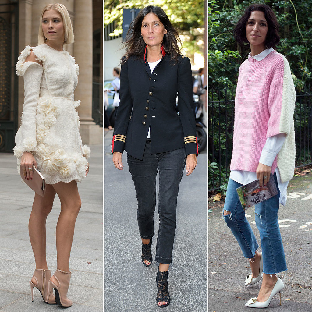 Street Style Stars at Fashion Week